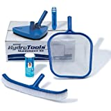 HydroTools by Swimline Premium Pool Maintenance Kit with Test Strips