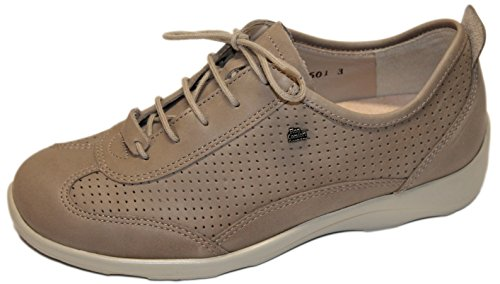 Taupe Forata Parma Donna Sneaker Finn Comfort 0ASq11