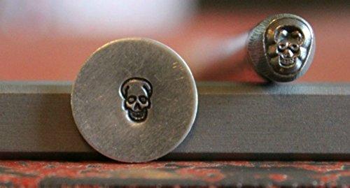 Supply Guy 5mm Skull Metal Punch Design Stamp WM-40 (Stamp Skull)