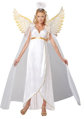 California Costumes Women's Guardian Angel Adult, White, Medium