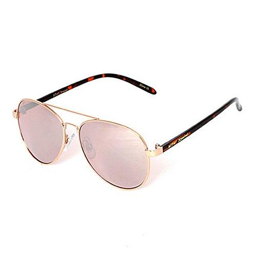 Betsey Johnson Women's BJ472119 Rose Gold - Betsey Aviator Johnson Sunglasses