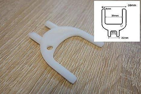 PAPEL TOALLA DE MANO Dispensador Blanco Recambio TECLAS Universal 38mm Deb 2 HORQUILLA: Amazon.es: Industria, empresas y ciencia