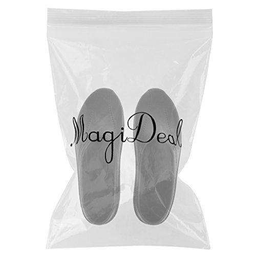 MagiDeal Männer Frauen Kochen Medizinische Krankenpflege Schuhe Clogs Trägerlosen Schwarz/Weiß Schwarz