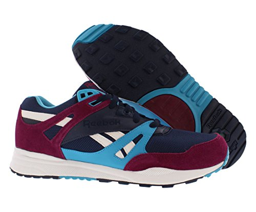Reebok Ventilator Uomo Sneakers Navy / Ribelle Berry / Volo Blu / Bianco M45990 Navy / Berry / Bianco