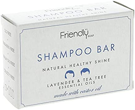 Friendly Soap Natural Shampoo Bar 6 x 95g