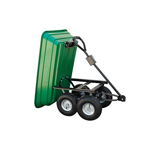 KCT-75-Litre-Garden-Trolley-Tipper-Cart-with-Soft-Grip-Handle