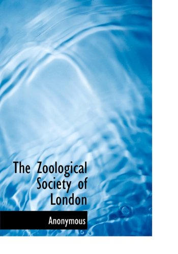 Download The Zoological Society of London pdf epub