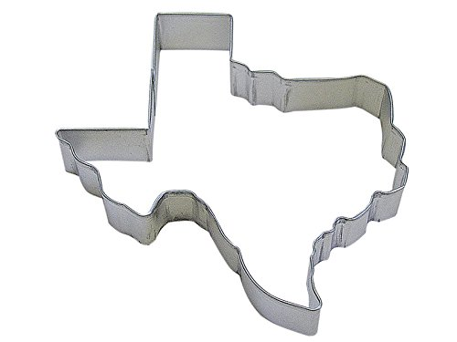 CybrTrayd R/&M Texas State Tinplated Steel Cookie Cutter Silver Bulk Lot of 12 5-Inch