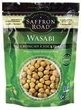 Saffron Road Crunchy Chickpeas Gluten Free Wasabi 6 Oz (Pack Of 8)