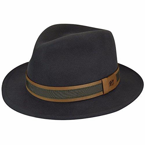 - Bailey of Hollywood Men's Gandy Hat, Gunmetal, L