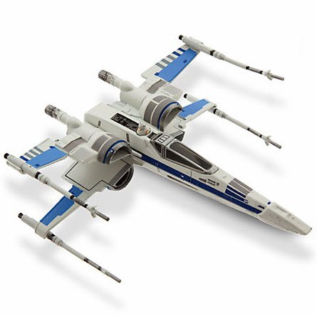 Star Wars: The Force Awakens Resistance X-Wing Fighter Die-Cast Vehicle by Disney (Wars Star Diecast)