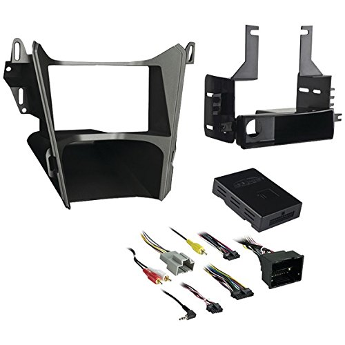 Metra 99-3308G Single or Double DIN Dash Installation Kit for 2013-2016 Chevrolet Equinox / GMC Terrain Vehicles by Metra