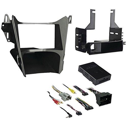 Metra 99-3308G Single or Double DIN Dash Installation Kit for 2013-2016 Chevrolet Equinox / GMC Terrain Vehicles