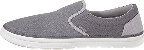 Pictures of Crocs Men's Norlin Canvas Slip-on 202772 Khaki/White 3
