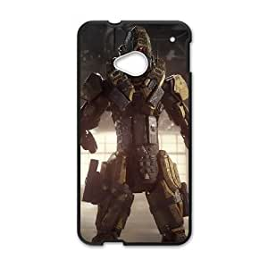 reaper call of duty black ops 3 specialist 4k war robot HTC One M7 Cell Phone Case Black Gimcrack z10zhzh-3033096