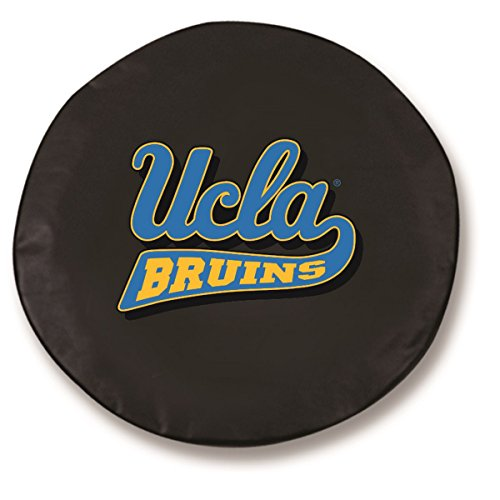 NCAA UCLA Bruins Tire Cover (Black,Size E) by Covers by HBS