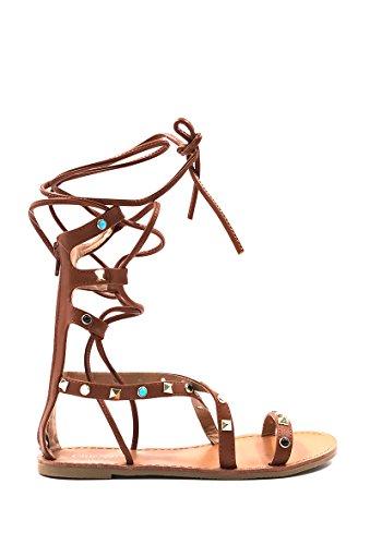CHIC NANA - Zapatos de Punta Descubierta Mujer marrón claro