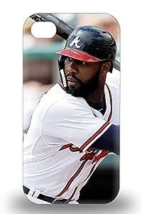 Forever Collectibles MLB Atlanta Bravs Jason Heyward #22 Hard Snap On Iphone 4/4s 3D PC Case ( Custom Picture iPhone 6, iPhone 6 PLUS, iPhone 5, iPhone 5S, iPhone 5C, iPhone 4, iPhone 4S,Galaxy S6,Galaxy S5,Galaxy S4,Galaxy S3,Note 3,iPad Mini-Mini 2,iPad Air )
