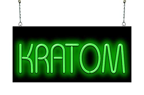 Kratom Neon Sign by Jantec Sign Group (Image #1)