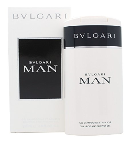 Bvlgari Shampoo and Shower Gel, Man, 6.8 Ounce