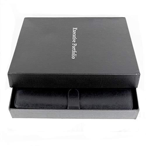 portfolio padfolio zipper binder folder