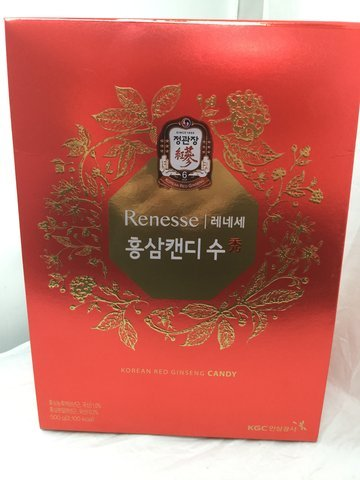 [Renesse] Red Ginseng Candy 500g / Red Ginseng Concentrate / Red Ginseng Dessert / Health Food / Gift / Snacks / Hard Candy / Parents / Grand Parents / - Steel Vending Truck