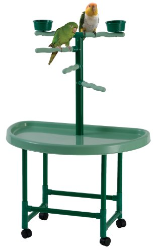 Acrobird, S Play Tower, 19 D by 28 L by 41 H, Green by Acrobird
