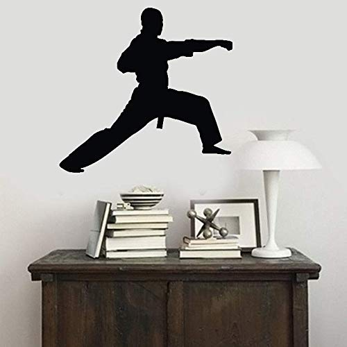 Seafti Quotes Wall Sticker Mural Decal Art Home Decor Martial Arts Punch Karate Kung Fu for Living Room Bedroom Martial Arts Hall by Seafti