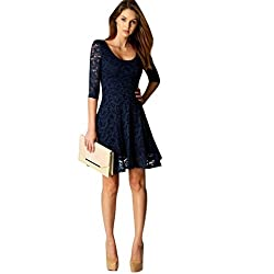 Women Dress,Neartime Lace Lady Party Evening Short Mini Dress