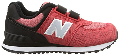 New Balance Nbkv574Bep - Zapatillas para hombre Black/Red/Textile