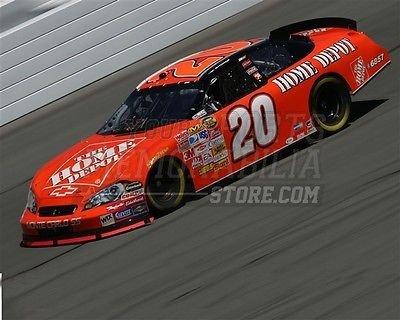 Tony Stewart Home Depot Team 20 racing track 8x10 11x14 16x20 photo 140 - Size