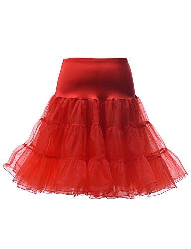 Red Adult Petticoat - 5