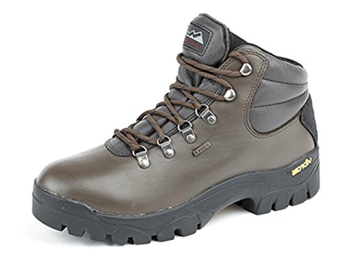 Sole Boot 'Highlander II' Hiking Brown Waterproof Vibram 1qFwXZWtw