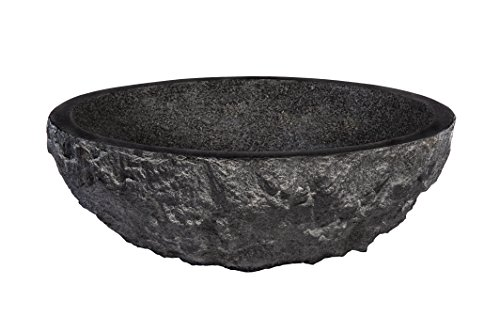 Novatto Absolute Natural Granite Vessel Bathroom Sink