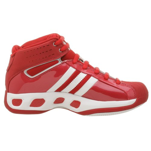 adidas Women's Pro Model Basketball Shoe Univ Red/White cheap best wholesale bafPtk6iB
