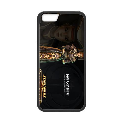 Star Wars The Old Republic 4 coque iPhone 6 4.7 Inch cellulaire cas coque de téléphone cas téléphone cellulaire noir couvercle EEECBCAAN00579