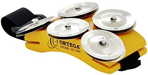 Ortega Guitars OSSFT Singer/Songwriter Foot Tambourine