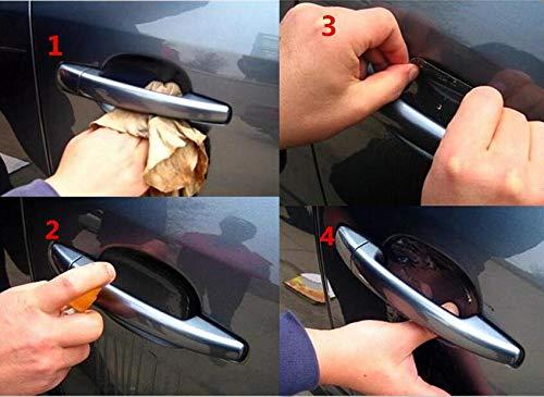 Oscenlife 5PCS Car Handle Protection Stickers Accessories For mazda cx5 ford focus 2 3 kuga nissan juke mercedes w211 bmw e92 kia sportage