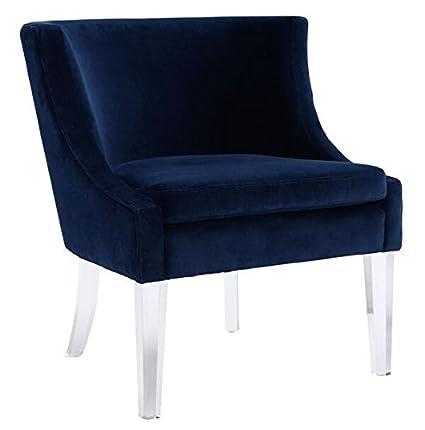 Amazon Com Tov Furniture The Myra Collection Modern Velvet