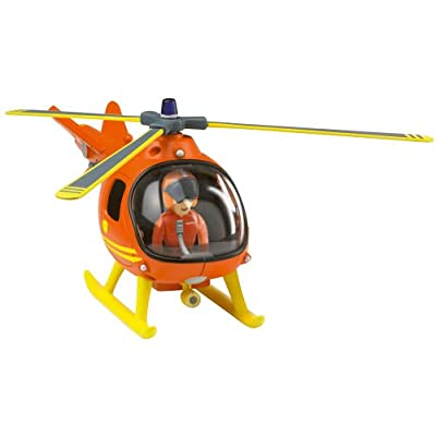 Fireman Sam - Mountain Rescue Helicopter with Tom: Toys & Games