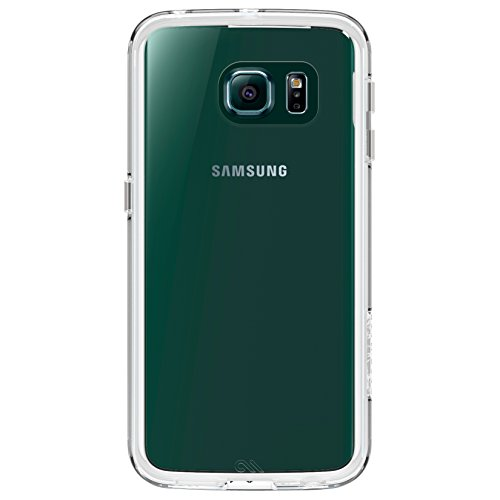 Case-Mate Naked Tough with Bumper for Samsung Galaxy S6 Edge - Clear