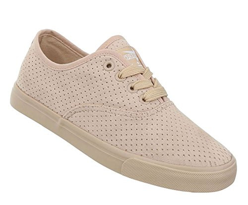 Damen Schuhe Freizeitschuhe Sneakers Modell Nr.1Beige
