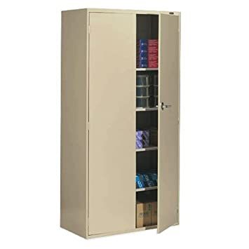 Captivating Global Office 9300 Series Economy 72u0026quot; Vertical Metal Storage Cabinet    Desert Putty