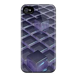 Hot MPG5668binz 3d Cubes Tpu Cases Covers Compatible With Iphone 6
