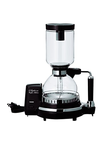 TWINBIRD siphon coffee maker CM-D854BR (Brown)