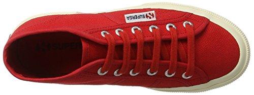 Superga 2754 Jcot Classic, Zapatillas Altas Unisex Niños Rot (Red)