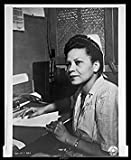 Infinite Photographs Photo: Lieutenant Agnes B. Glass, 1945, Army Signal Corps, Nurse, Military, African American Size: