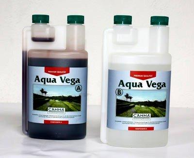 Canna Engrais Croissance des Aqua Vega A & B 2x 1L