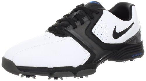 Nike Golf Men's Nike Lunar Saddle Wide Golf Shoe,White/Me...