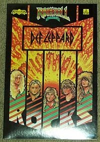 Def Leppard Rock n Roll Comics Issue #5 (Rocket to the Top!)